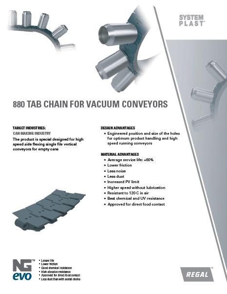 Vacuum Conveyor Chain